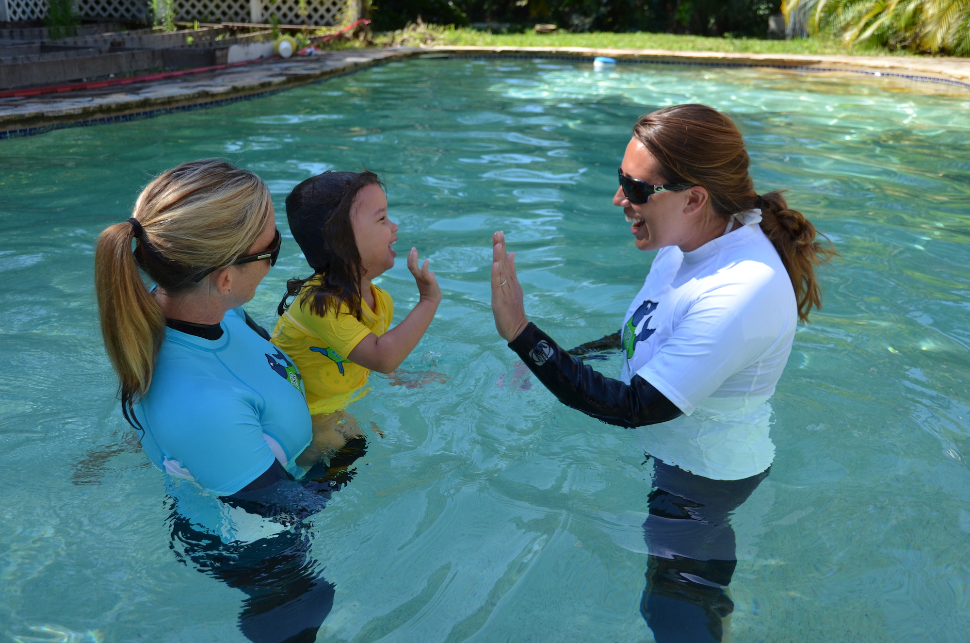 Kelli Roop, ISR Master Instructor with Kate Armentano, ISR Instructor